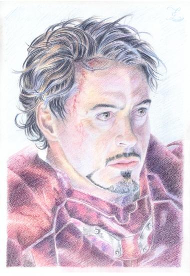 Robert Downey Jr by Olivier_Lerousseau